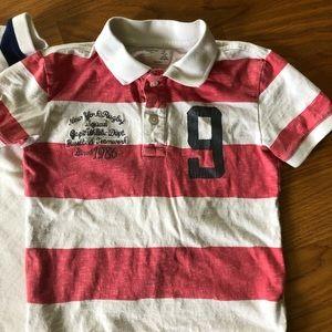 GAP Shirts & Tops - Gap Kids Boys small 6/7 collared shirts bundle